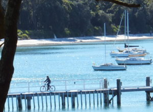 Cycling at Callala Bay - Bay and Back, Coastal Escape
